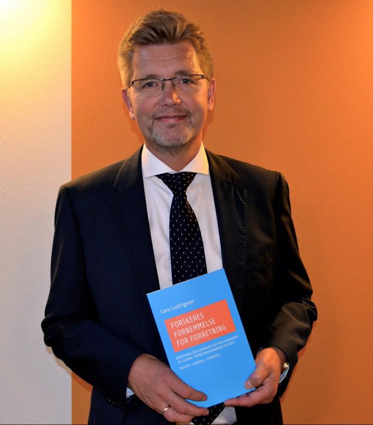 """Frank Jensen, Overborgmester i København, holdt en tale ved mødet den 16. september om: """"Danmark som IT-nation"""" – et emne der diskuteres i Forskeres Fornemmelse for Forretning"""